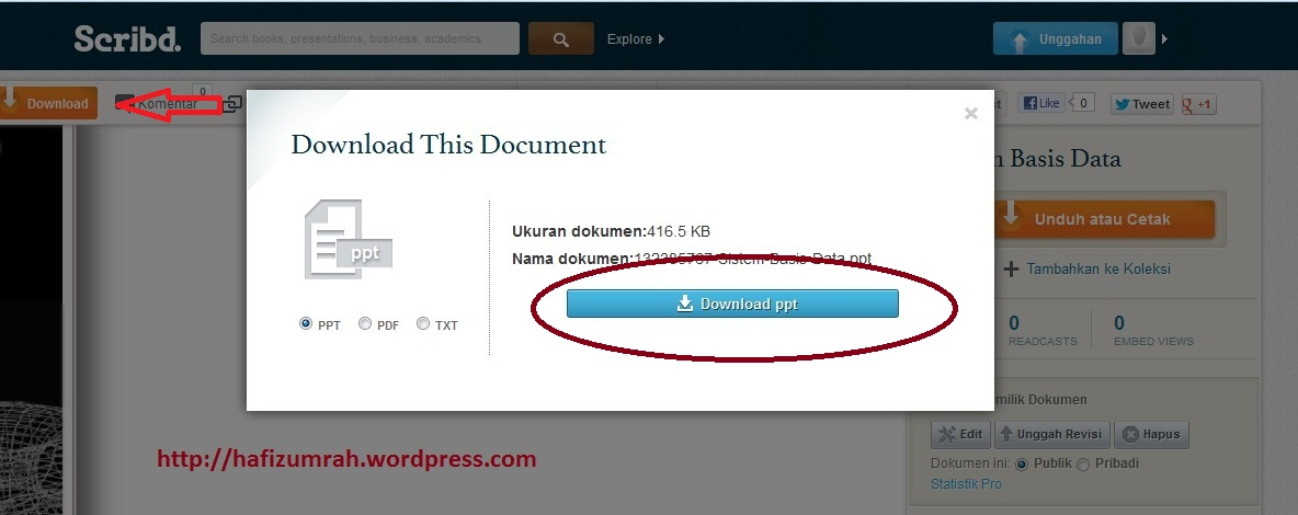 cara mendownload file dari scribd secara gratis  u2013 work hard and work smart